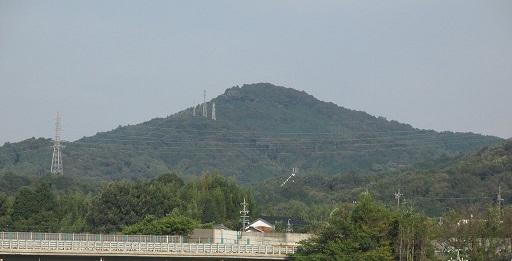 村積山の景観